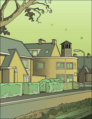 Heilige Huisjes groen