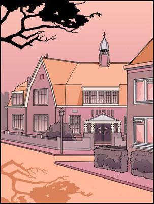 Willem van Oranjeschool rood