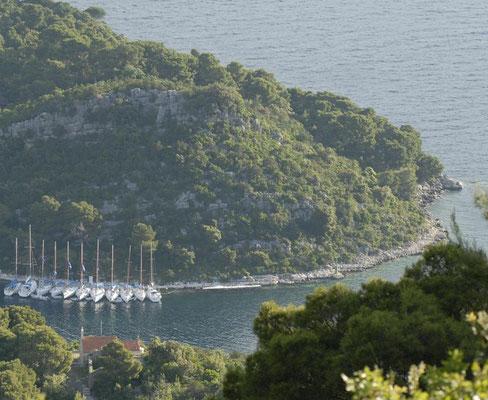 Segelrevier Flottille Brac