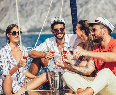 Kroatien im Mittelmeer Adria segeln