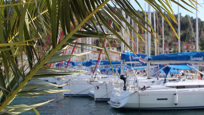 Kroatien-Flottille Alleinreisende mit Kinder