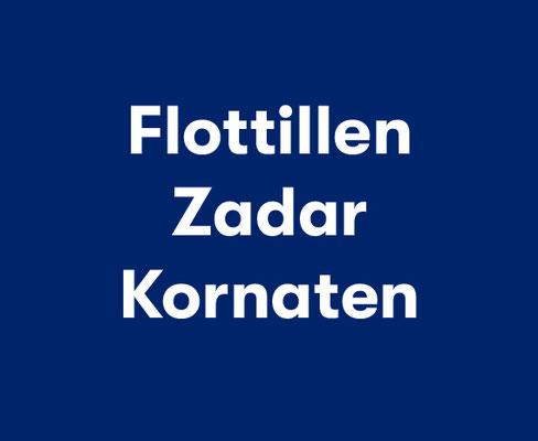 Zadar Kornaten Flottillenurlaub