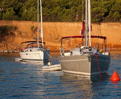 Flottillensegeln Familie Erwachsene