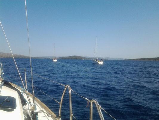 Segeln mit Katamaran mit Skipper Hvar