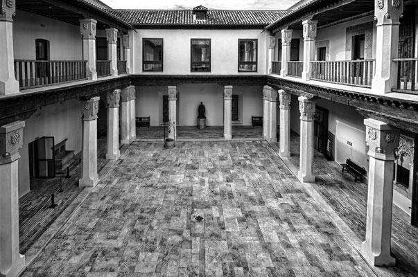 Patio del Palacio de Fuensalida