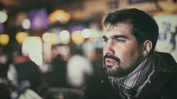 César Arroyo, músico, activista social, creativo e ingeniero comunitario.