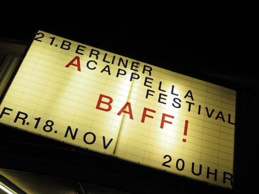 Café Theater Schalotte Berlin: Baff!
