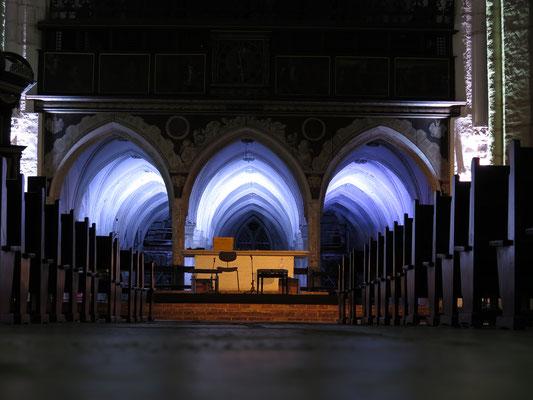 Katharinen Kirche Lübeck: Schleswig Holstein Musik Festival -Ton- & Lichttechnik-