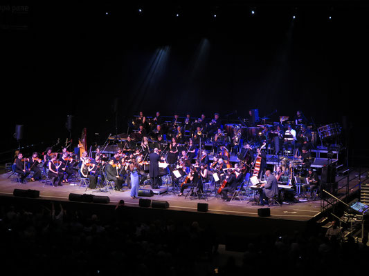 "Mercedes Benz Arena Berlin: ""Michael Jackson - The Symphony Experience"" -Orchestermanagement-"