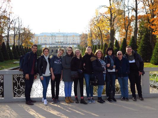 St. Petersburg (Russland): Konzert-/Begegnungsreise der Saxophonklasse der Lübecker Musikschule der GEMEINNÜTZIGEN -Tourneemanagement-