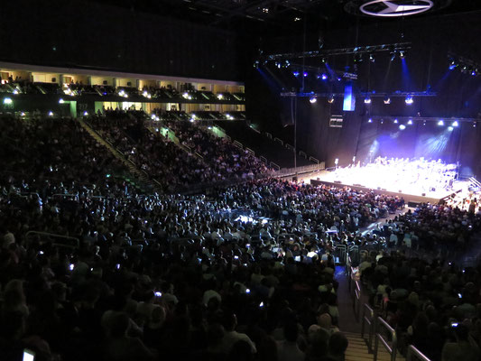 """Mercedes Benz Arena Berlin: """"Michael Jackson - The Symphony Experience"""" -Orchestermanagement-"""