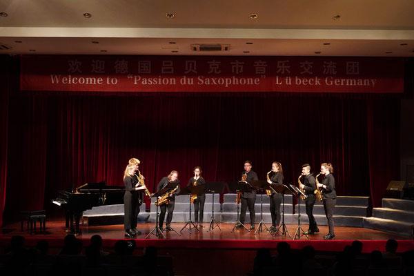 Shaoxing (China): Konzert-/Begegnungsreise der Saxophonklasse der Lübecker Musikschule der GEMEINNÜTZIGEN -Tourneemanagement-