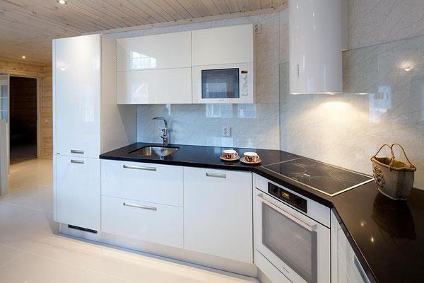 Cuisine maison en bois