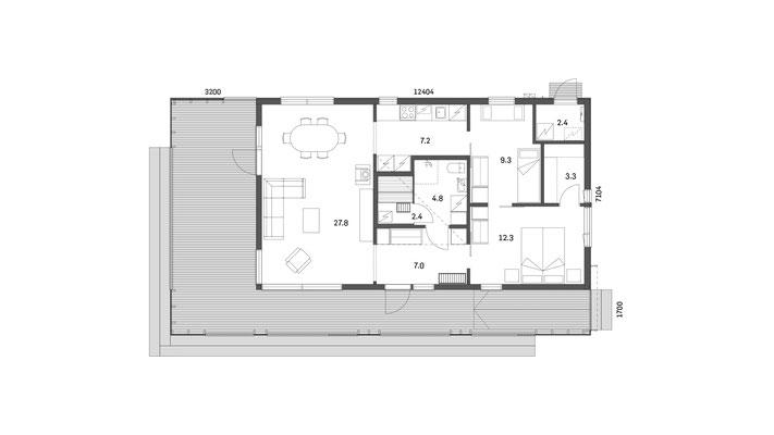 plan maison 35