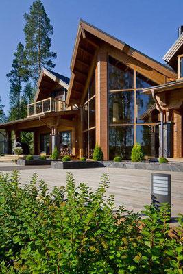 Maison en bois 440m²