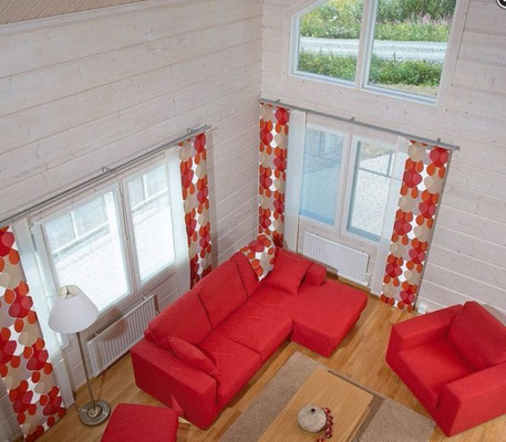 interieur maison en bois