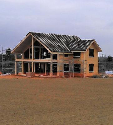 Montage maison bois