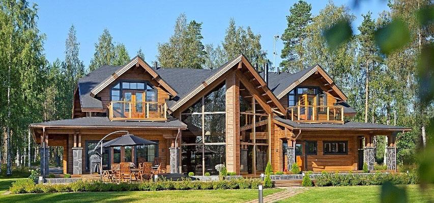 Maison bois 440m²