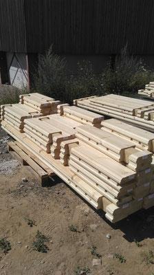 Madrier de la maison en bois 134mm