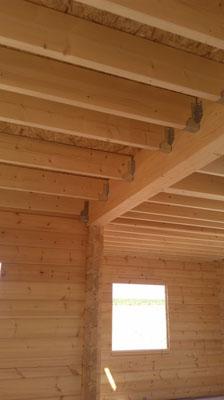 Plancher maison en bois