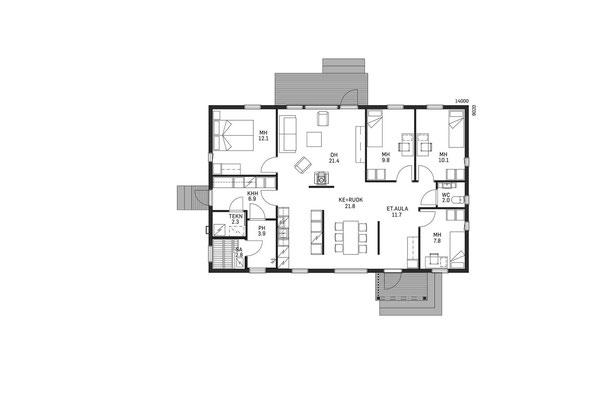 Plan maison en bois en kit