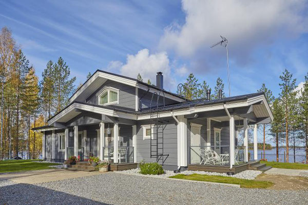 maison bois contre collé