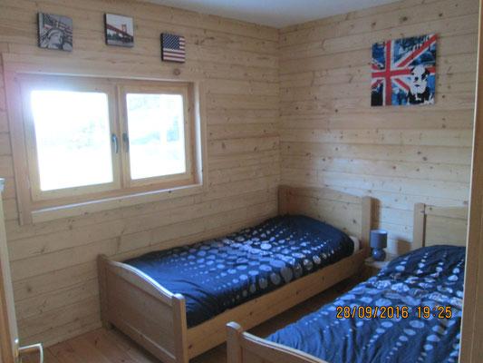 chambre chalet en kit