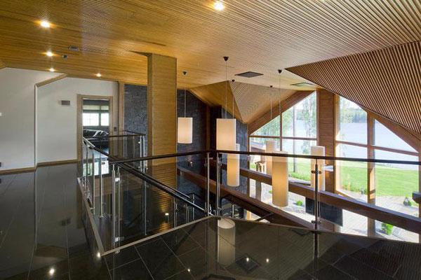 maison bois étage