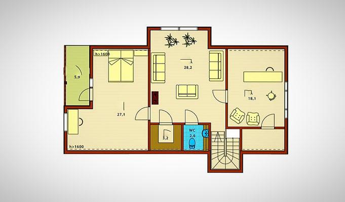 Plan maison en bois