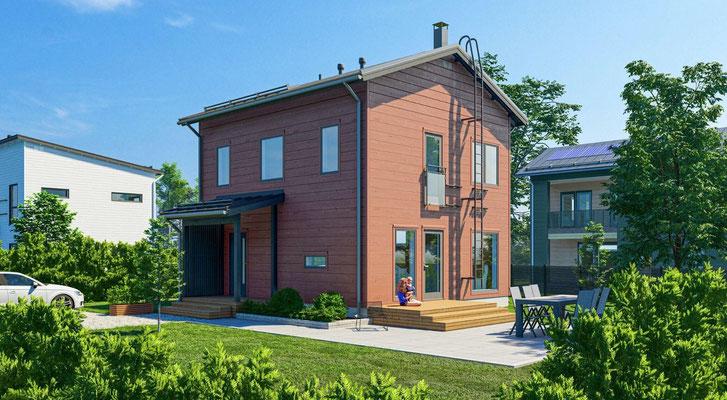 Maison en bois N°50