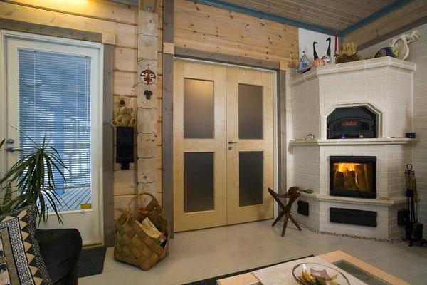 Photos maisons en bois chalet en kit maison en bois for Prix chalet bois 100m2