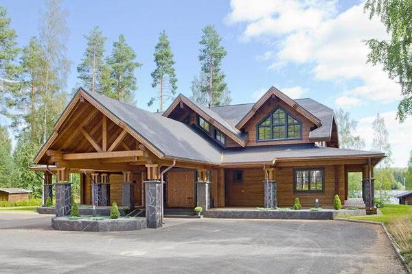 eco maison bois