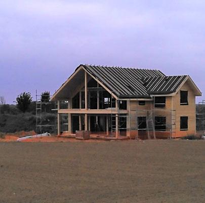 maison en bois bardage