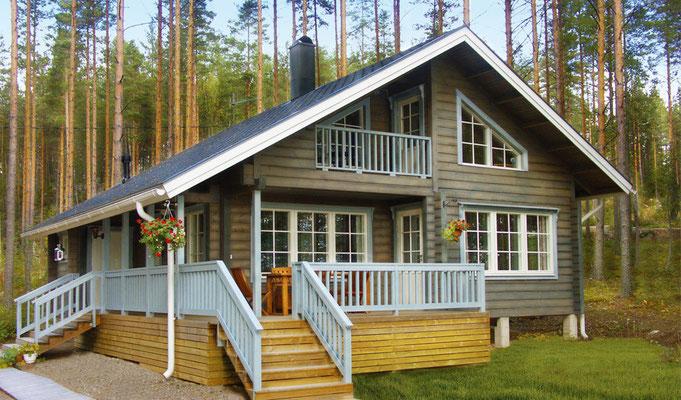 Photos maisons en bois chalet en kit maison en bois for Agrandissement maison moins de 40m2