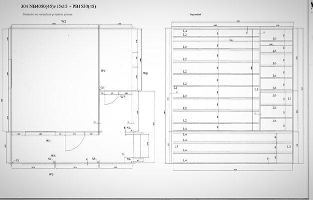 plan chalet en kit