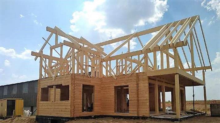Structure maison bois