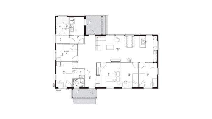 Plan maison N°44