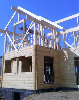maison bois construction