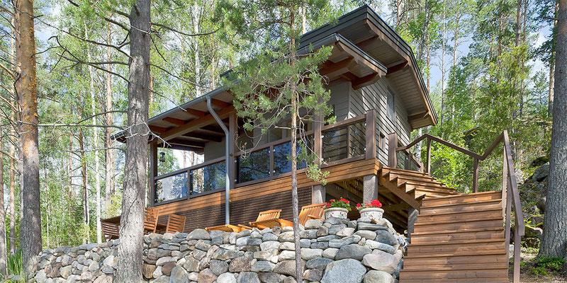 maison bois en contre-collé