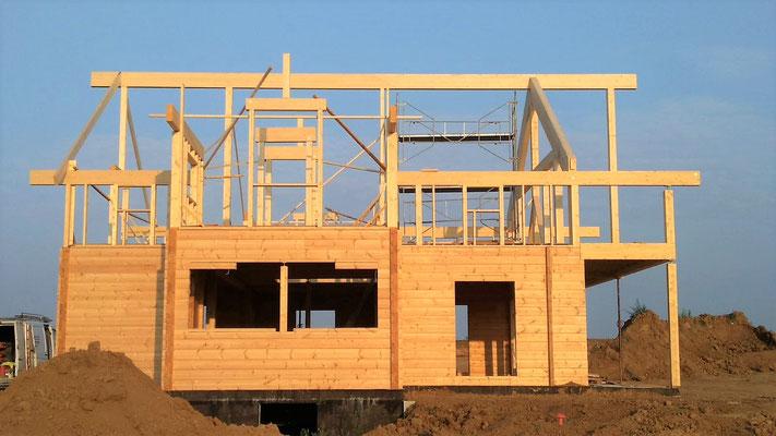 Charpente maison en bois