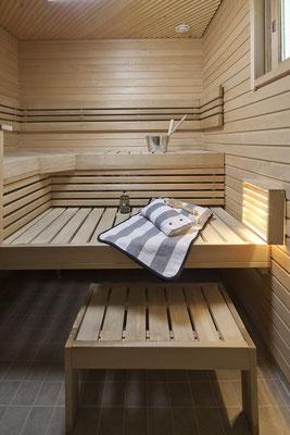 Sauna maison bois