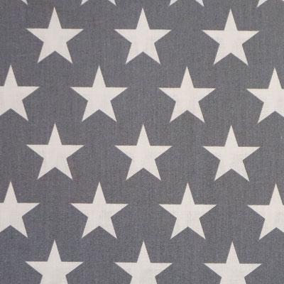 D46 Sterne groß grau