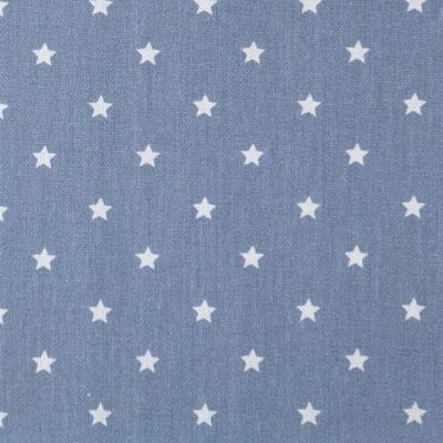 D45 Sterne staubblau