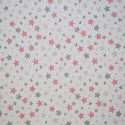 D92 Sterne altrosa grau