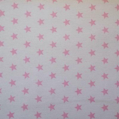 D83 Sterne rosa weiß