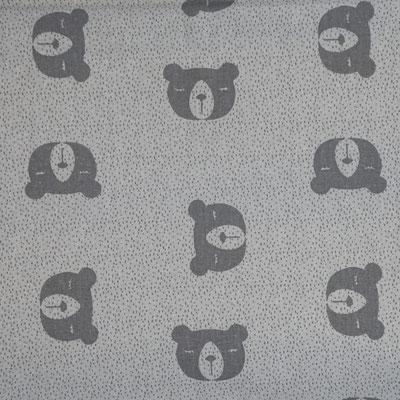 D42 Bären grau weiß