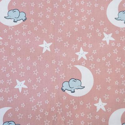 D67 Elefanten auf Mond rosa
