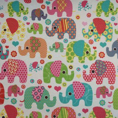 D111 Elefanten rosa