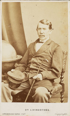 David Livingstone. Click pic to view Wikimedia source