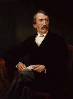 David Livingstone, by Frederick Havill, given to the National Portrait Gallery, London in 1896.  Click pic to view Wikimedia source